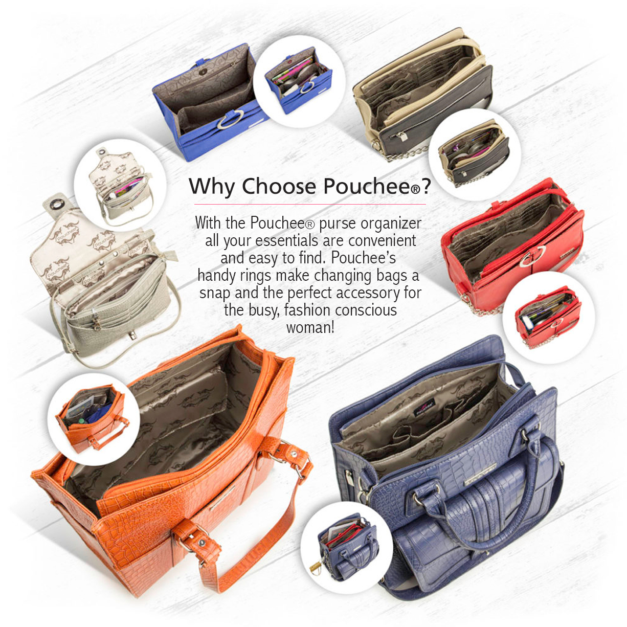 39109f229 Pouchee - Shop Purses and Purse Organizers
